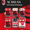 Milan 3D puffy stickers graphics