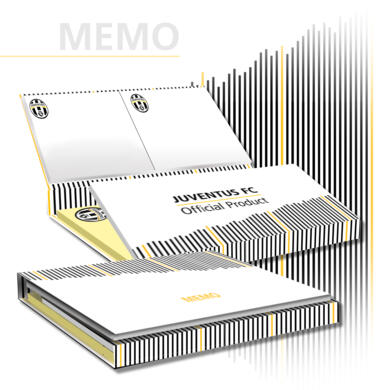 Juventus sticky notes White