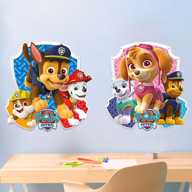 Paw Patrol Skye and Chase Shield