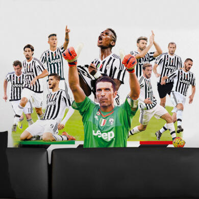 Juventus Buffon and team 2015