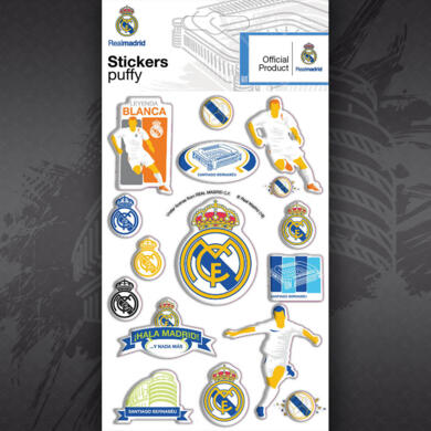 Real Madrid adesivo puffy Grafica