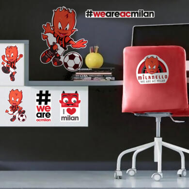 Milan Devil sticker