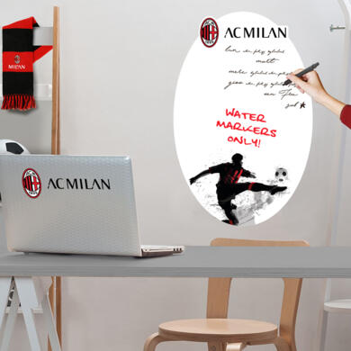 Milan adhesive whiteboard Graphic