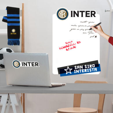 Inter adhesive whiteboard Logo