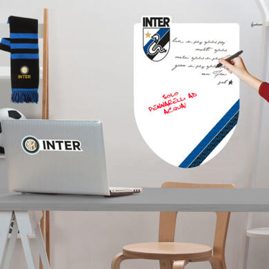 Inter adhesive whiteboard Graphic