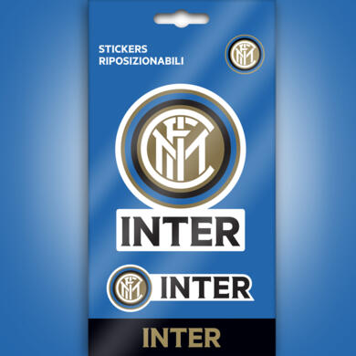 Inter mini stickers logo