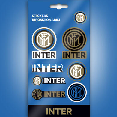 Inter mini stickers graphics logo