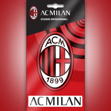 Milan mini stickers logo