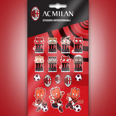 Milan mini stickers graphics