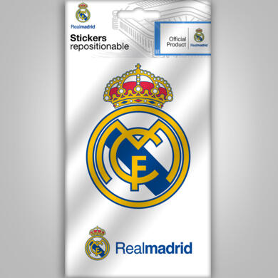 Real Madrid mini sticker logo