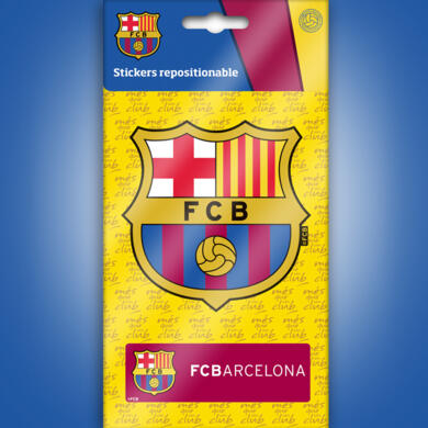 Barcelona mini sticker logo