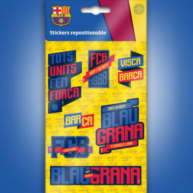 Barcelona mini stickers graphics