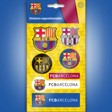 Barcelona mini stickers graphics logos