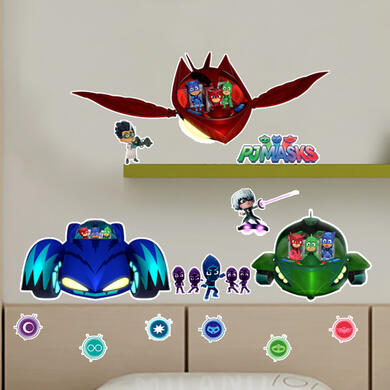 Pj Masks Cars and Villains
