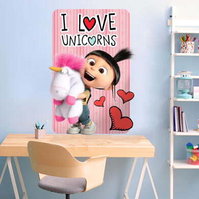 Despicable Me 3 Agnes and Unicorn