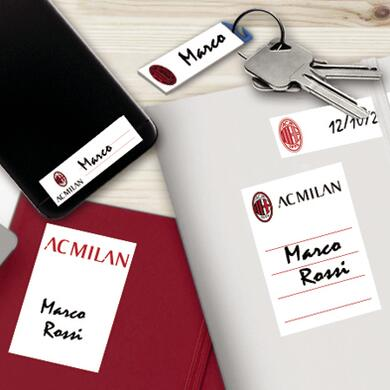 Milan sticky labels for school