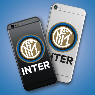 Inter mini stickers logo for smartphone