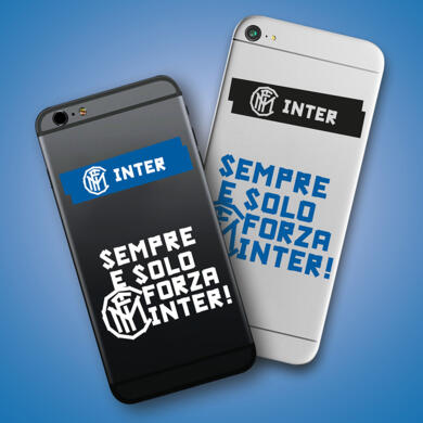 Inter stickers graphic for smartphone