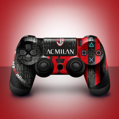 Milan stickers for PS4 controller