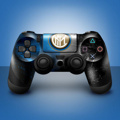 Inter sticker for PS4 controller