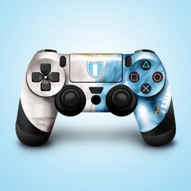 Lazio stickers for PS4 controller