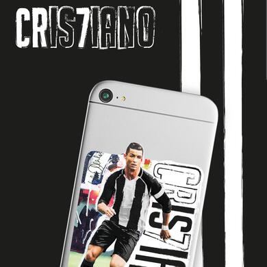 Cristiano Ronaldo by Sid Maurer sticker for mobile