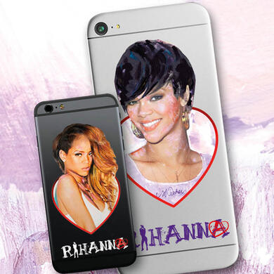 Rihanna by Sid Maurer sticker for mobile