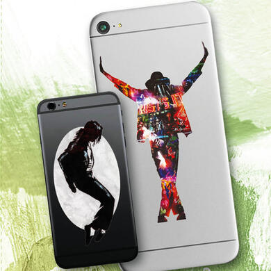 Michael Jackson by Sid Maurer sticker for mobile