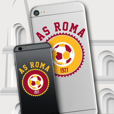 Roma graphic sticker for smartphone