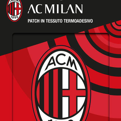 Milan patch in textile thermo adhesive Logo