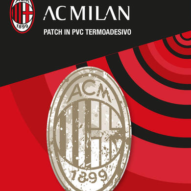 Milan patch in PVC thermo adhesive Logo Vintage