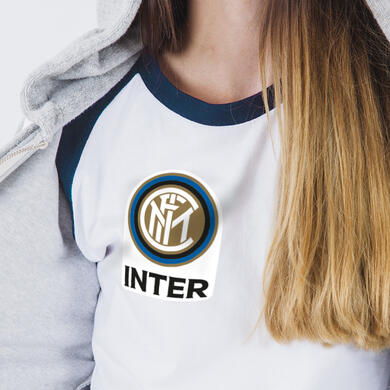Inter patch in PVC thermo adhesive Logo