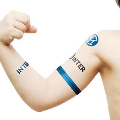 Temporary Tattoos Fc Internazionale Official Fc Internazionale