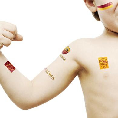 Roma temporary tattoos mini Logos