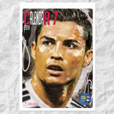 Calendario 2019 Cristiano Ronaldo CR7 by Sid Maurer