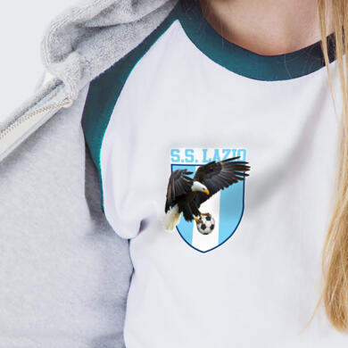Lazio patch in PVC thermo adhesive Logo