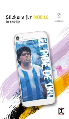 Maradona - sticker for mobile