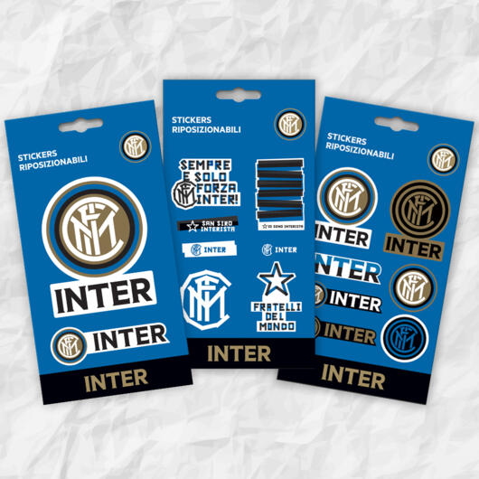 Inter tris mini adesivi