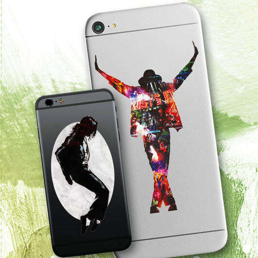 Michael Jackson - sticker for mobile