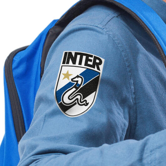 Inter patch in textile thermo adhesive Graphic